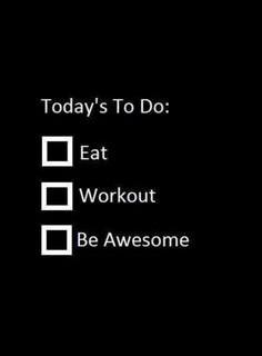 Workouts 16th Nov - 21st Nov