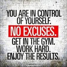 Workouts May 21st - May 26th